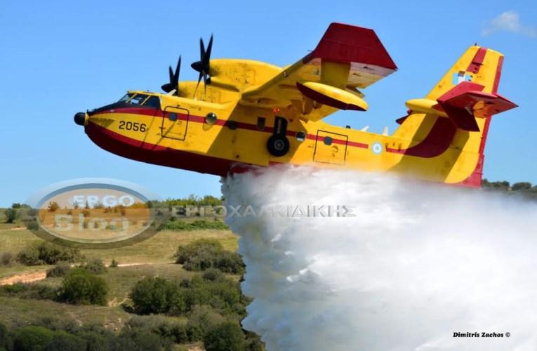 Χαλκιδική: Υψηλός κίνδυνος πυρκαγιάς