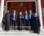 Στη Μητρόπολη Ιερισσού ο υφυπουργός Εξωτερικών