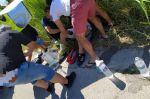 Τροχαίο ατύχημα με τραυματία στη Χαλκιδική (ΦΩΤΟ)