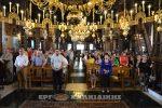 Η ανακομιδή των ιερών λειψάνων του Αγίου Στεφάνου στην Αρναία (βίντεο φώτο)