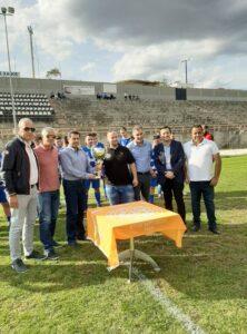 Παράδοση Κυπέλλου στον Πρωταθλητή Νοτ.Oμίλου της Β' Κατηγορίας 2019-2020 -Α.Ο.Σημάντρων .