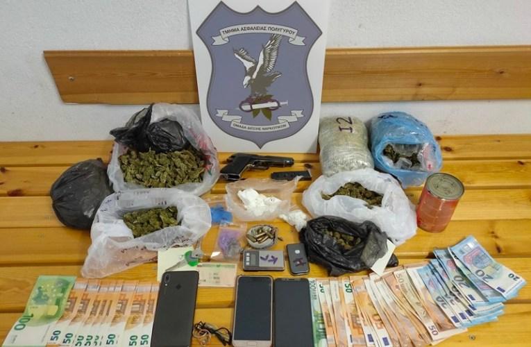 Χαλκιδική: 2 συλλήψεις για διακίνηση ναρκωτικών