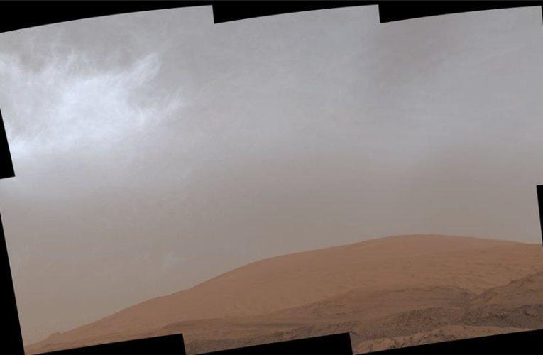 NASA: Εικόνα για πρώτη φορά από σύννεφα στον Άρη