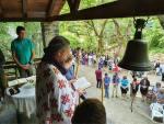 Πανηγυρική θεία λειτουργία ανήμερα της Μεγάλης γιορτής του Αγίου Πνεύματος στη  Μεγάλη Παναγία