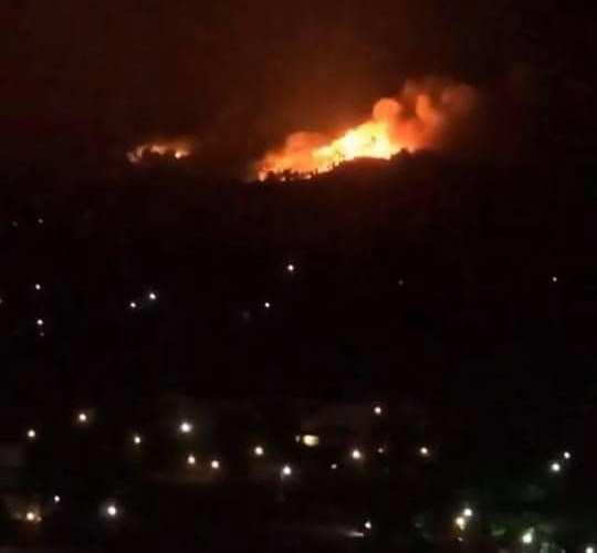 Τρία ενεργά μέτωπα φωτιάς στην Χαλκιδική