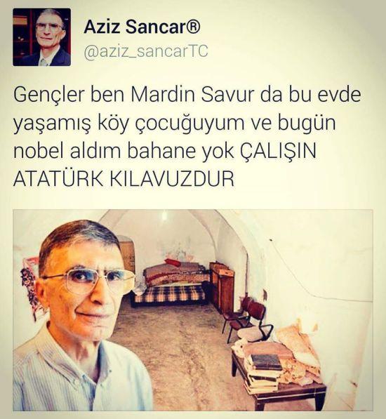 prof dr aziz sancar