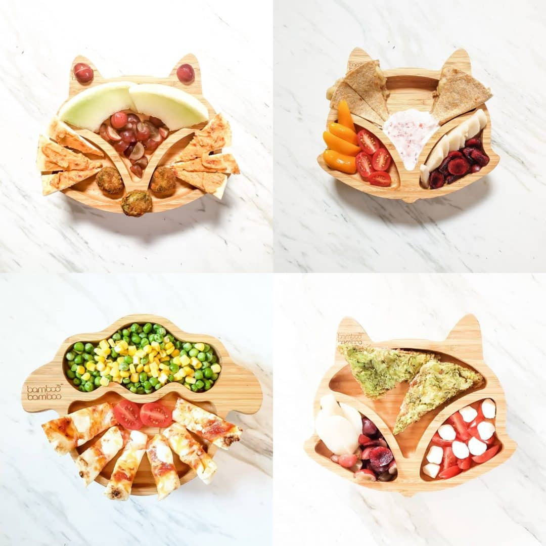 Healthy, easy BLW meal ideas and recipe ideas for one year old! These toddler lunches are perfect for big kids as well!