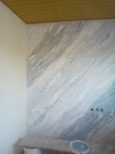 peinture effet marbre