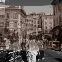 Superposition de photographies de Nice
