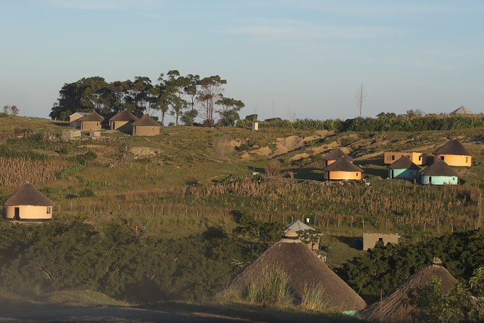 Xhosa village