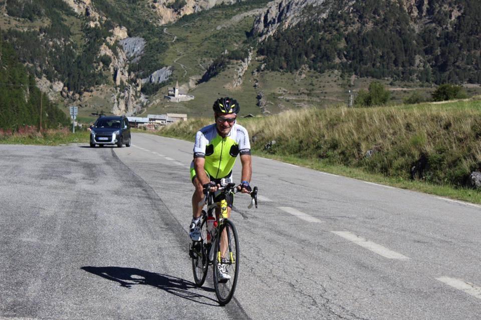 La montée de l'Izoard