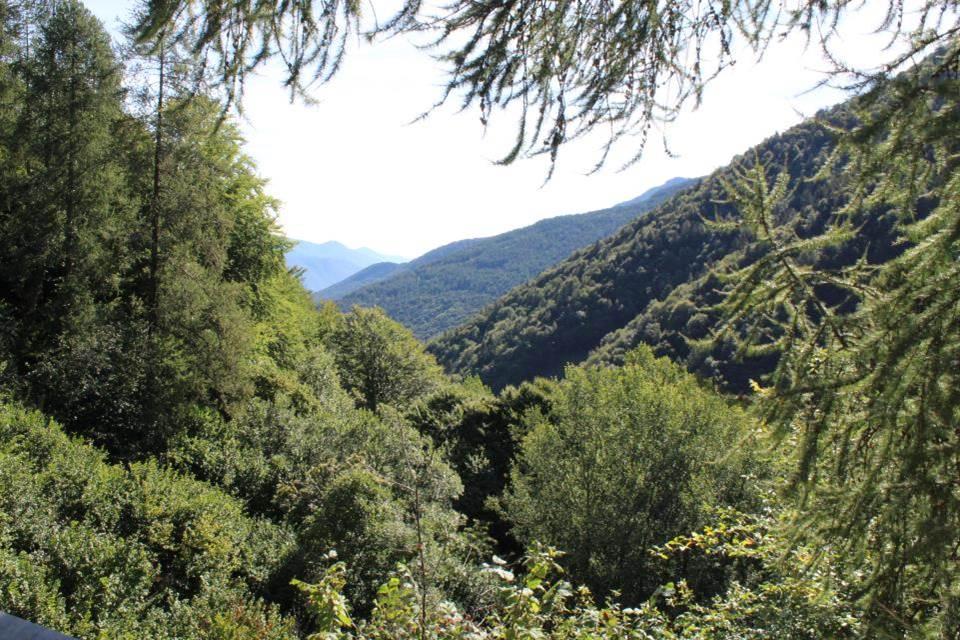Les paysages de la montée du col de Finestre