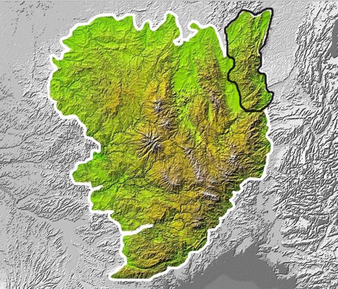 Les monts du Mâconnais et du Haut-Beaujolais