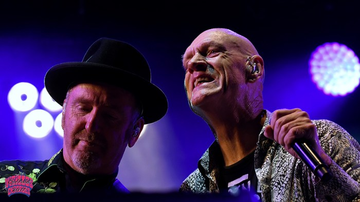 Vieilles Charrues 2017 : Midnight Oil - Peter Garett - © Eric Pollet