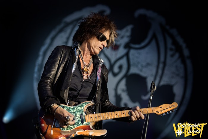 Hellfest 2018 : Hollywood Vampires – Joe Perry – © Eric Pollet