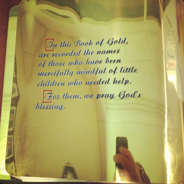 Shriners book of gold