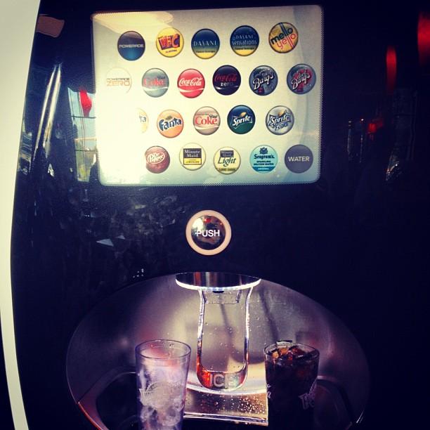 Coolest soda machine ever!