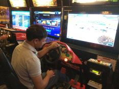Muminur at Dave and Busters