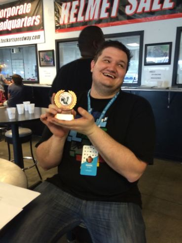 Mark With Slowest Lap Trophy