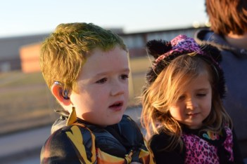 Hero and Hailey on Hayride