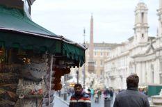 Kevin Conboy at Piazza Navona