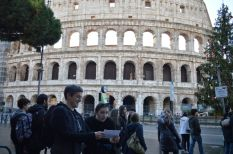 Jennifer and Allen at Colosseum
