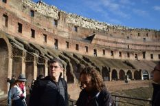Allen and Vincenzo at Colosseum