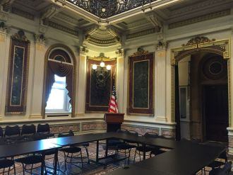Indian Treaty room in Eisenhower Executive Office Building