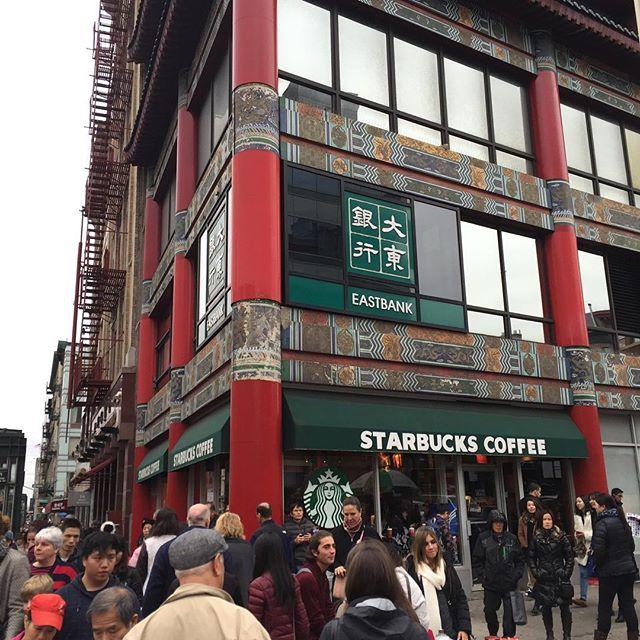 Starbucks in China Town
