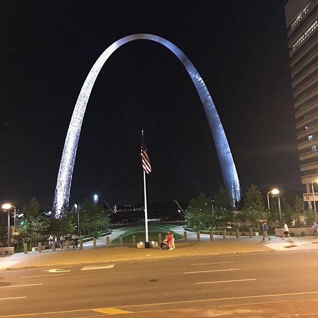 Gateway arch in STL