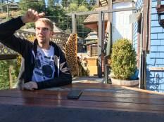 Dan Walmsley at Bowen Island Pub
