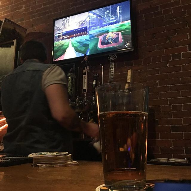 Cider and Rocket League at Arcadia