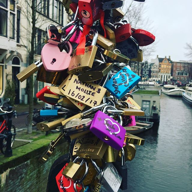 Love locks in Amsterdam #travelmattic