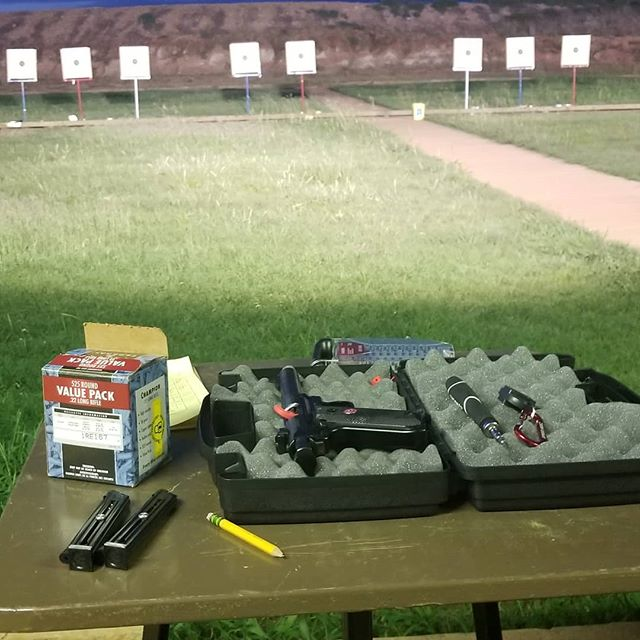 Did a practice NRA precision match tonight with the pistol club and shot a 508 for my first time.