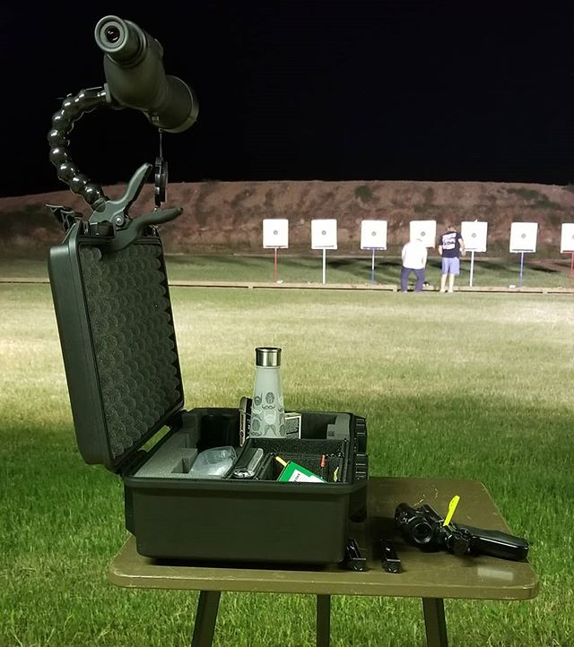 Week one of the pistol league tonight. I shot a 710 tonight, which is a big improvement over the 508 I got last time.