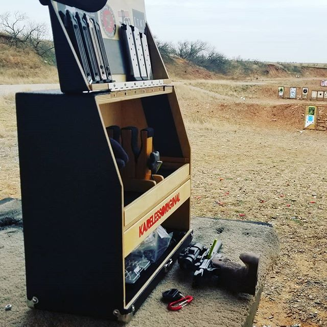 One benefit to shooting in the cold is that I get the range all to myself 💪