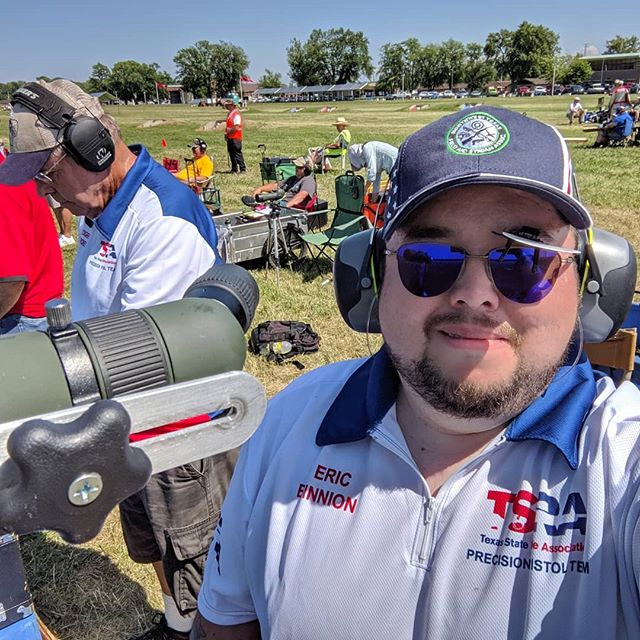 Shooting for Texas 🇨🇱 in the last national NRA precision pistol match with Roger