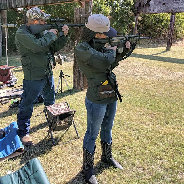 Destiny and I shot in the NWTFS rifle match this last Saturday. Offhand was her best score and my worst score. I got some video as well, but nothing too exciting. ????
