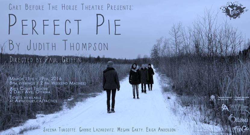 Perfect Pie by Judith Thompson | TACTICS Arts Court | Erica Anderson