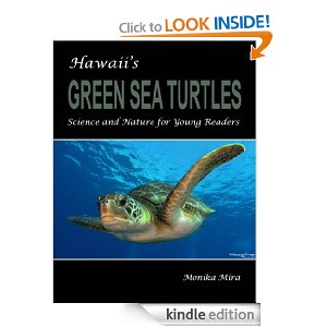 Hawaii's Green Sea Turtles by Monika Mira #BookReview