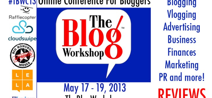 Win a Blog Makeover and Reminder about @TheBlogWorkshop Online Conference in May #TBW
