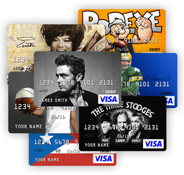 fun facts about cardcom - Custom Visa Debit Card