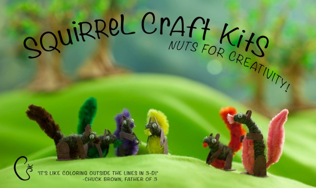 squirrel king kids cradt kit