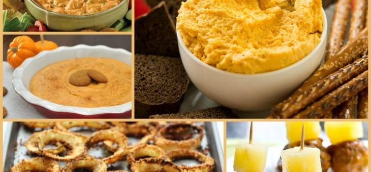 Fun Fall Appetizers to Take to Your Next Party