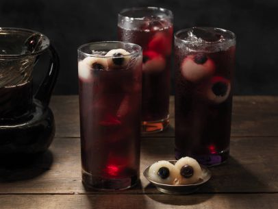 Blueberry Rickety Eyeball Punch