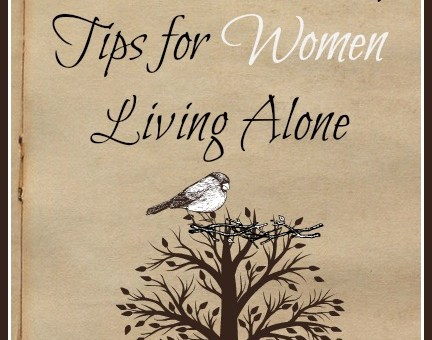 6 Home Security Tips for Women Living Alone