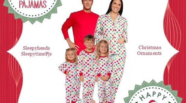 Sleepyheads SleepytimePjs Christmas Ornaments Family Matching Pajamas #Giveaway ($184 Value)