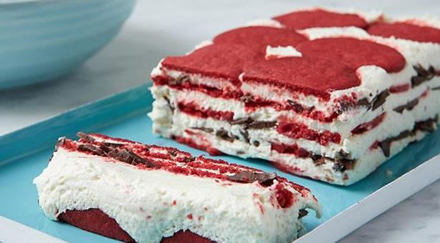 Whip Up This Red Velvet Ice Box Cake for Your Valentines