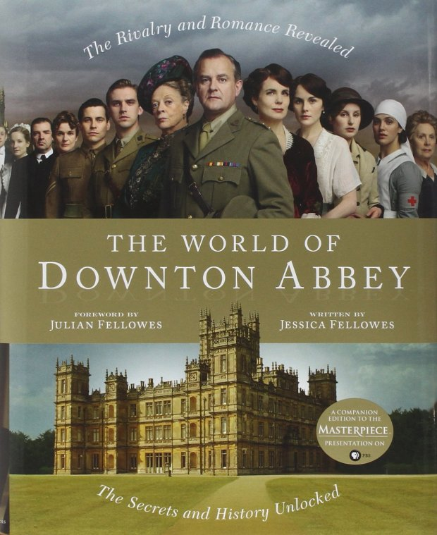 downton abbey book