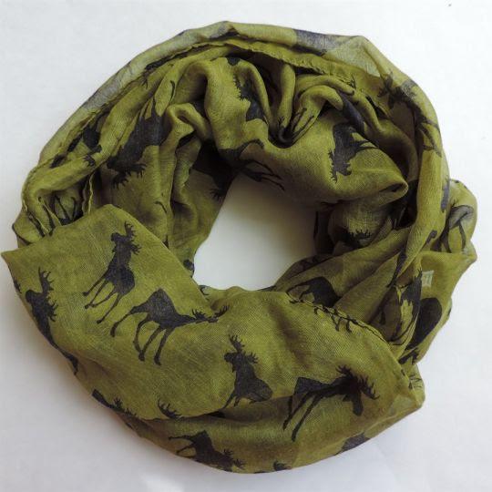 moose infinity scarves